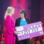 Världens Barngalan 2017, Kattis Ahlström och Lotta Bromme från P4 Extra Foto: Stina Hjelm
