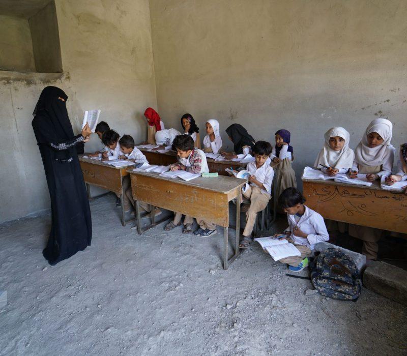 undervisning Jemen